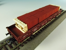 11519-B Cihlové bloky bez palety-18 kusů,dvě velké palety