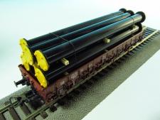 11548-Roury černé v rámu-29x118x22 mm