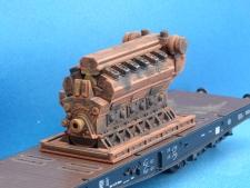 11557-A Dieselmotor 28x56x32 mm