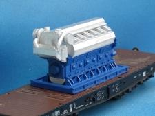 11557 Dieselmotor 28x56x32 mm