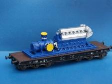 11555 Spindelpumpe mit Dieselmotor 28x100x32 mm