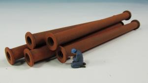11410-B Rohre lose - 5 St.Durchmasse 8x112 mm