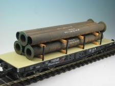 18326 Rohre mit Flansch 57x198x40 mm