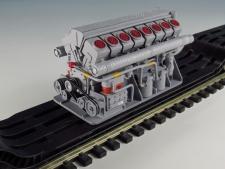 Motor 16ti válcový ,28x58x32 mm